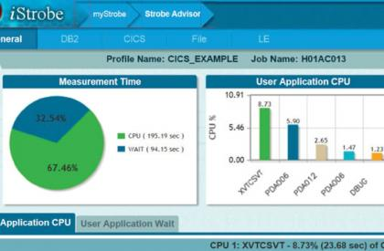 Mainframe Application Performance Monitoring and Analysis with Strobe